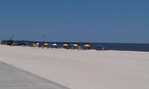 THE GULF OF MEXICO IN BILOXI